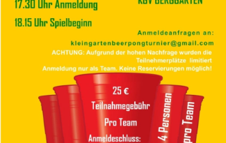 Beer-Pong-Turnier