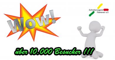 Danke für 10000 Besucher