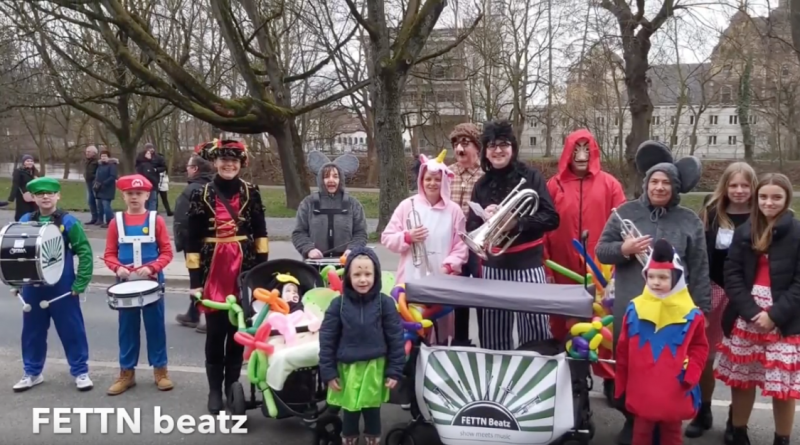 Video FETTN beatz beim Karnevalsumzug